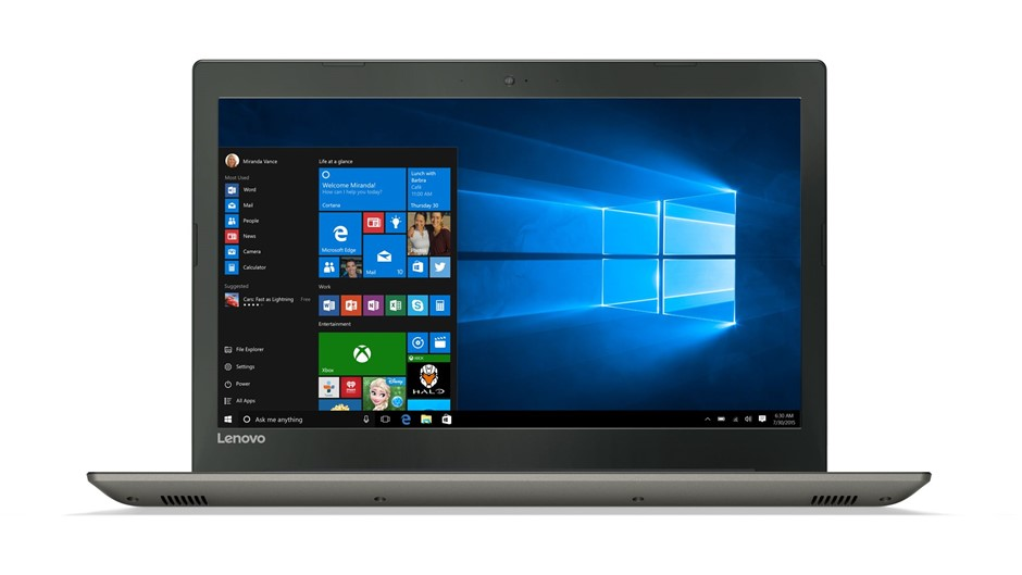 "Lenovo IdeaPad 520 -15.6"" HD Display/i7/8GB/2TB"
