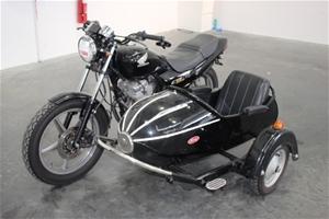 2000 Honda CB250 Road Bike with Kozi Sidecar