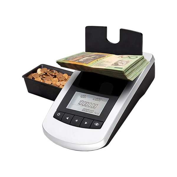 Money Counter for Coins and Banknotes Machine