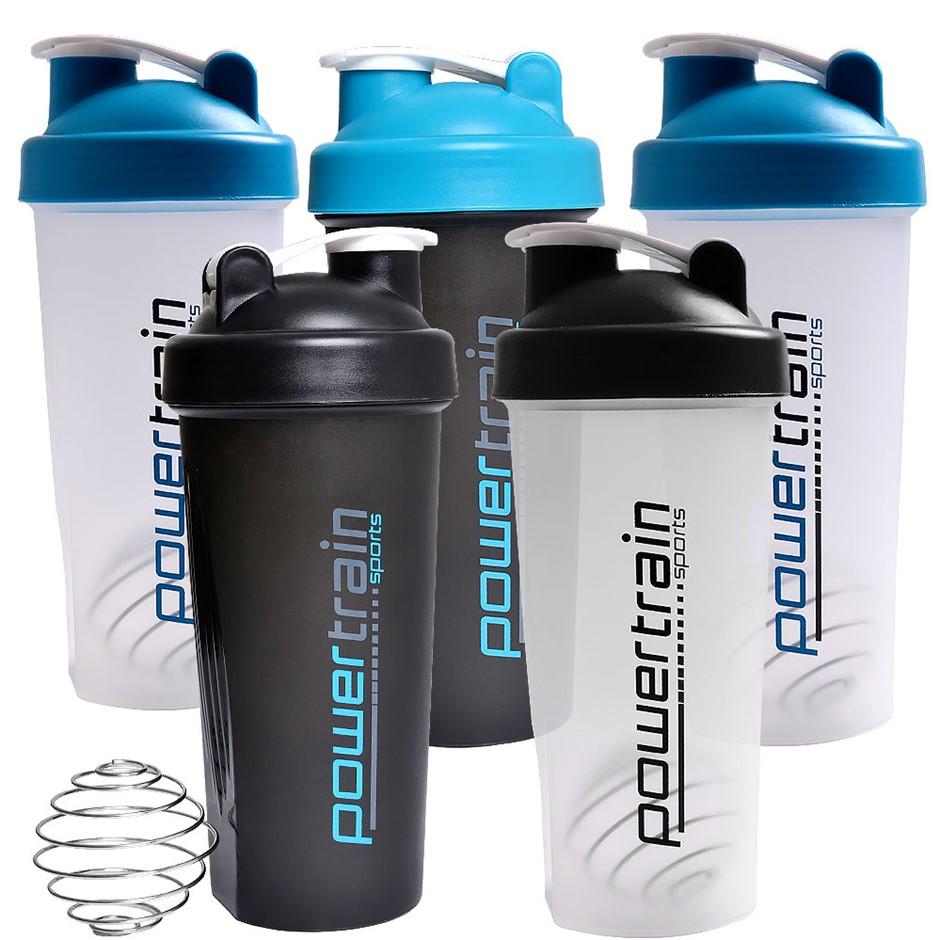 5x 700ml Protein Drink Water Bottle Shaker BPA Free Blender