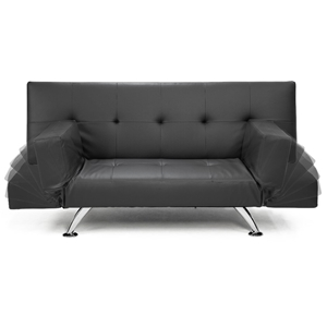 Brooklyn 3 Seater Faux Leather Sofa Bed