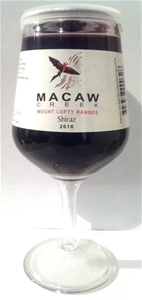 Macaw Creek Shiraz 2016 Wine In a Glass