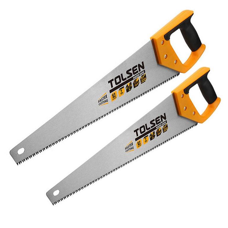 2 x TOLSEN Handsaws 500mm & 400mm. Buyers Note - Discount Freight Rates App
