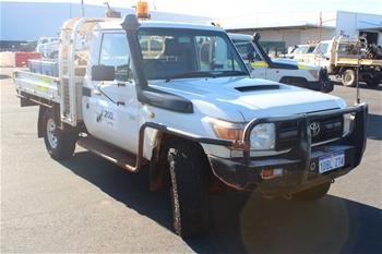 2008 Nissan Patrol Y61 4WD Utility