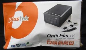 Plustek OpticFilm 135 Film Scanner - 1 Touch Button, 35mm Film