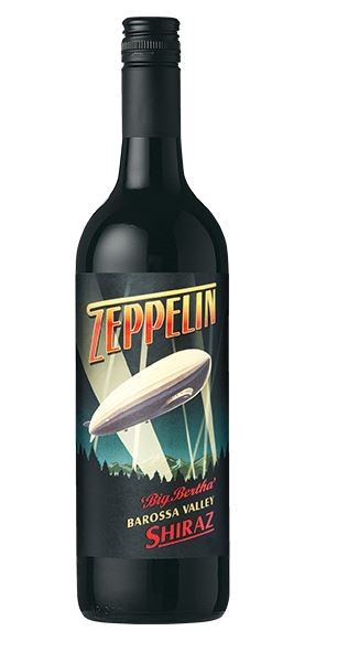 Zeppelin `Big Bertha` Shiraz 2016 (6 x 750mL), Barossa Valley, SA.