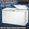 Unused BD-600 Chest Freezer