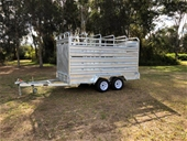 New 2020 Galvanised Dual Axle 12' x 6' Cattle Trailer