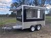 2020 Dual Axle Food Trailer -  450 Model