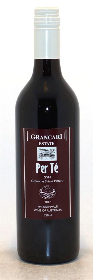 Grancari Estate Wines Grenache Shiraz Mataro 2017 (12 x 750mL) SA