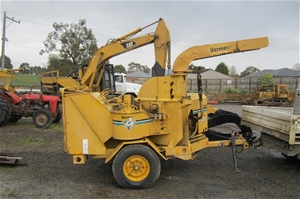 Vermeer 1250 Turbo 12 Inch Wood Chipper Auction 0008