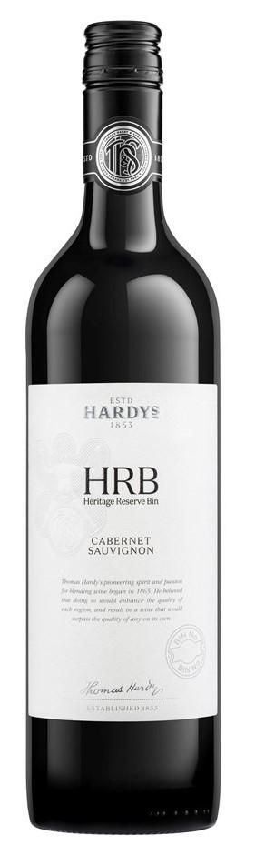 Hardy's HRB Cabernet Sauvignon 2016 (6 x 750mL), SE AUS.