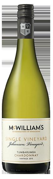 McWilliam's Single Vineyards Tumbarumba Chardonnay 2017 (6 x 750mL), NSW