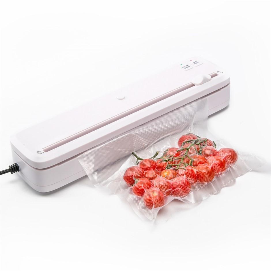 Vacuum Food Sealer - 100W WHITE