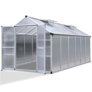Green Fingers 3.7 x 2.5m Polycarbonate A