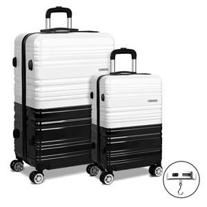Wanderlite Luggage Sets 2 Piece Suitcase