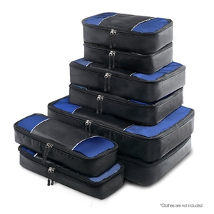 Wanderlite 8 Piece Luggage Organiser Tra