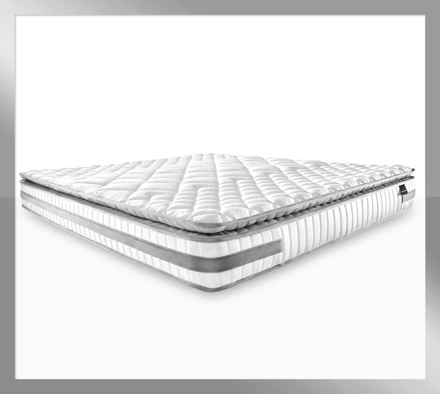 Atlas Platinum - Latex Pillow Top Mattress with Firm Edge, King size
