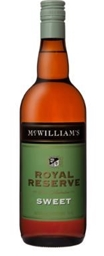 McWilliam's Royal Reserve Sweet NV (12 x 750mL), SE AUS.