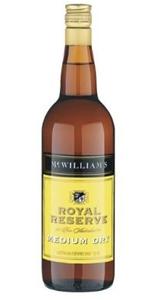 McWilliam's Royal Reserve Medium Dry Ape