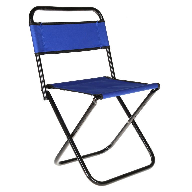 Mini Folding Camp Chair, Metal Frame, Canvass Seat & Back. Buyers Note - Di