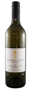 Peppermint Creek Classic Dry White 2015