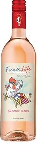 French Life Grenache Merlot Rose 2017 (6