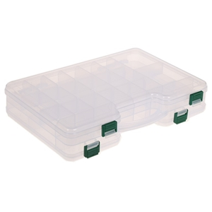 Double Sided Clear Plastic Tackle Box 29