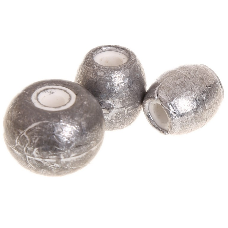 10pc Egg Shaped Fishing Sinkers, Sizes 20, 30, 40, 50, 60 grams. Buyers Not
