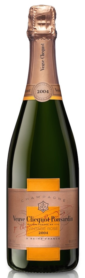 Veuve Clicquot Vintage Rose 2008 (6 x 750mL), Champagne, France.