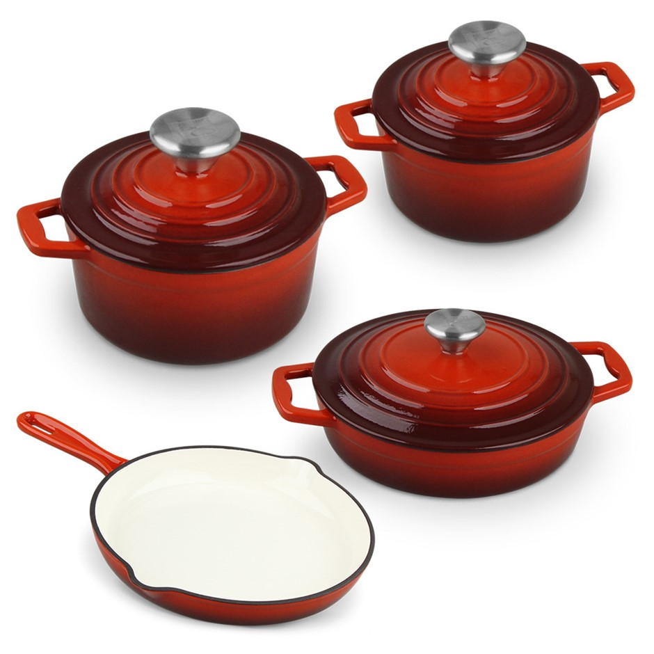 Xanten 7pc Cast Iron Cookware Set