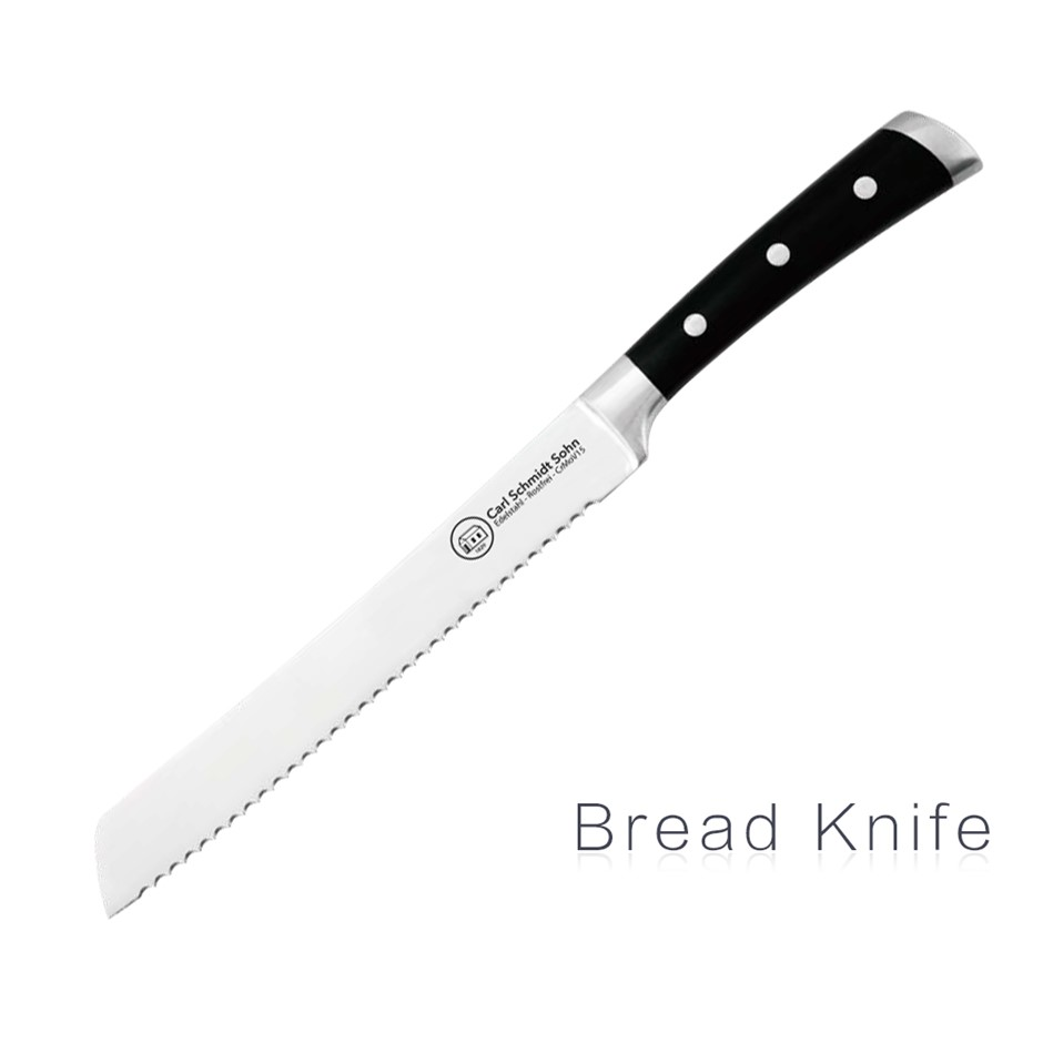 Herne Kitchen Bread knife 21cm Stainless Steel Blade Knives