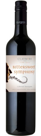 Claymore Bitter Sweet Cabernet Sauvignon 2017 (12 x 750mL), Clare Valley.