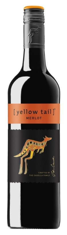 Yellowtail Merlot 2016 (6 x 750mL), SE, AUS.