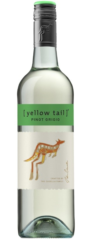 Yellowtail Pinot Grigio 2020 (6 x 750mL), SE, AUS.