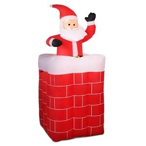 Jingle Jollys Inflatable Pop-up Santa
