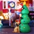 Jingle Jollys Inflatable Christmas Santa Tree Lights Outdoor Decorations