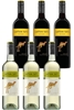 Yellowtail Semillon Sauv Blanc & Shiraz Mixed Pack (6 x 750mL),SE AUS.