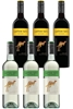 Yellowtail Pinot Grigio & Shriaz Mixed Pack (6 x 750mL),SE AUS.