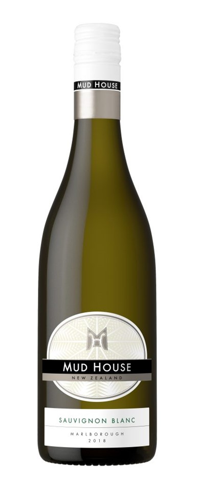 Mud House Sauvignon Blanc 2018 (6 x 750mL), Marlborough. NZ.