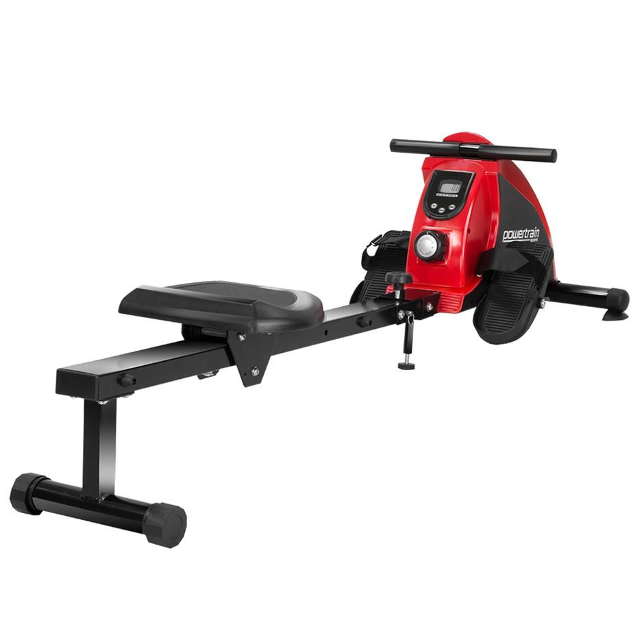PowerTrain Rowing Machine Magnetic Resistance RW-H02 - Black
