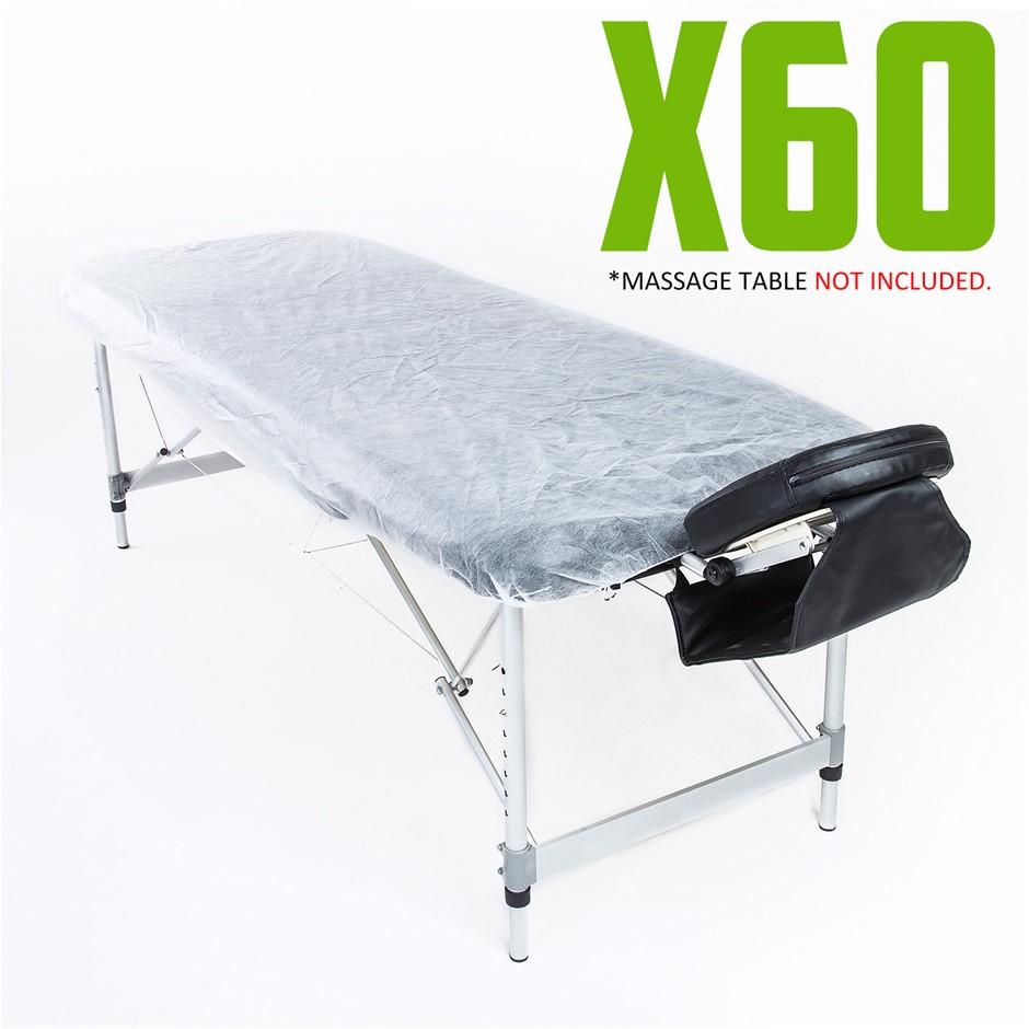 Disposable Massage Table Cover 180cm x 55cm 60pcs