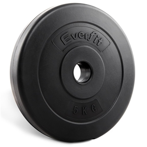 Everfit 2X 5KG Barbell Weight Home Gym