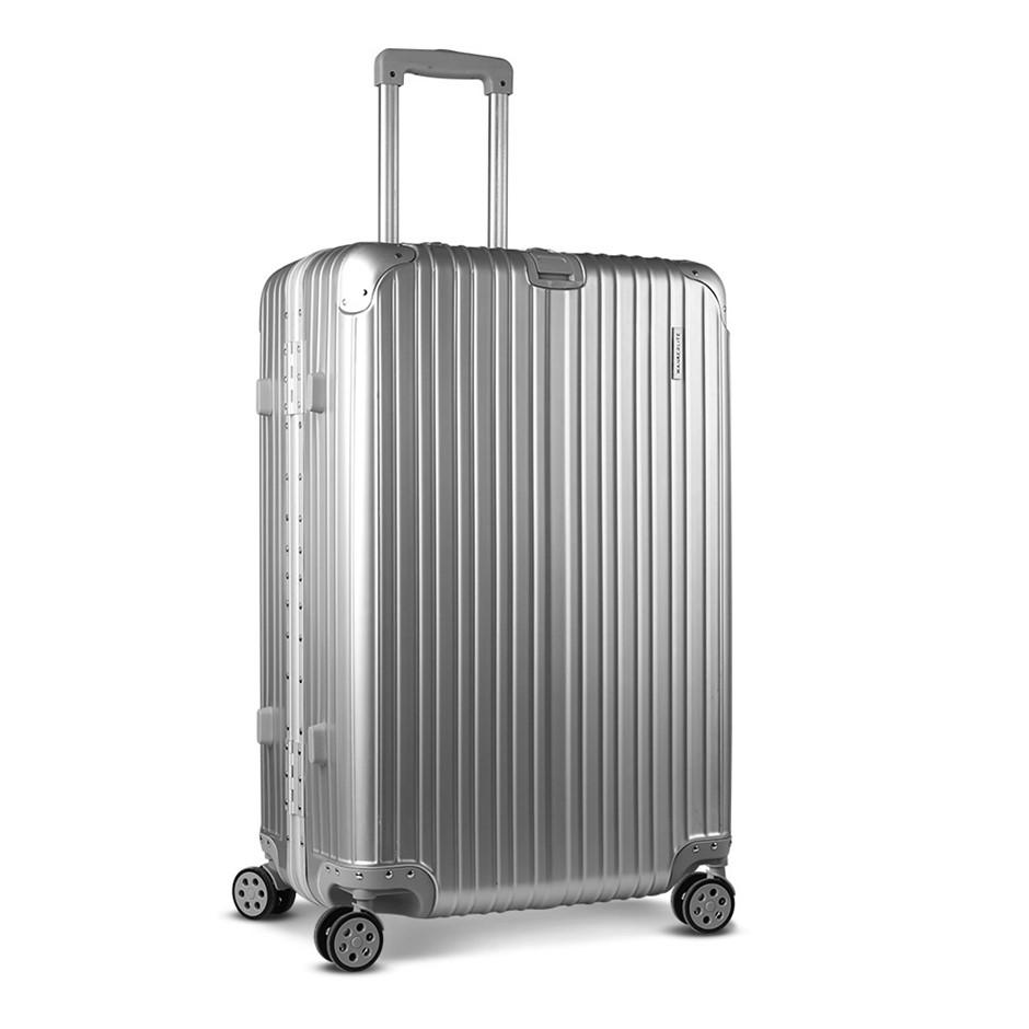 Wanderlite 28 Aluminium Luggage Trolley - Silver