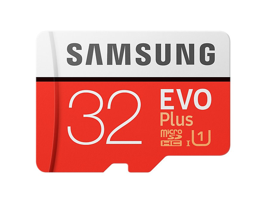 Samsung (MB-MC32GA/APC) EVO Plus microSD Card (with SD Adapter) 32GB