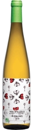 Cave de Ribeauville `Organic` Riesling 2016 (12 x 750mL), Alsace, France.