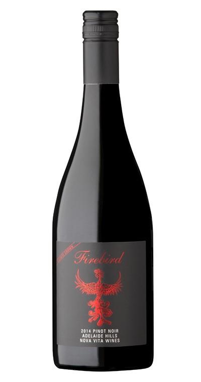 Nova Vita `Firebird` Pinot Noir 2014 (12 x 750mL), Adelaide Hills, SA.
