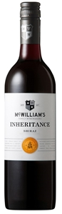 McWilliam's `Inheritance` Shiraz 2018 (1