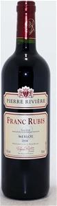 Franc Rubis Merlot 2016 (12x 750ml), Fra