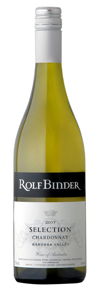 Rolf Binder Selection Chardonnay 2017 (12 x 750mL). Barossa, SA.